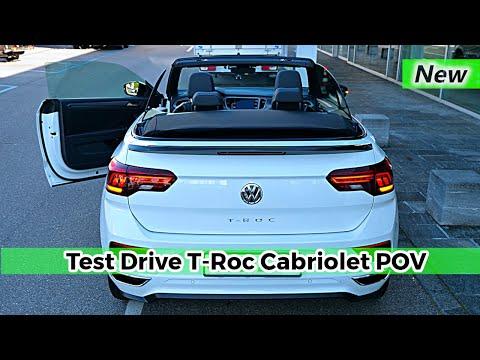 New Volkswagen T-Roc Cabriolet R Line 2020 Test Drive POV Review