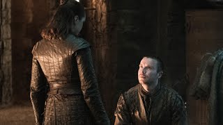 Arya and Gendry - Game of Thrones Season 1, 2, 3 and 8 (episode 4)