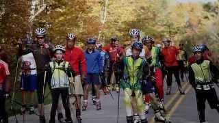 preview picture of video 'World Record roller skiing'