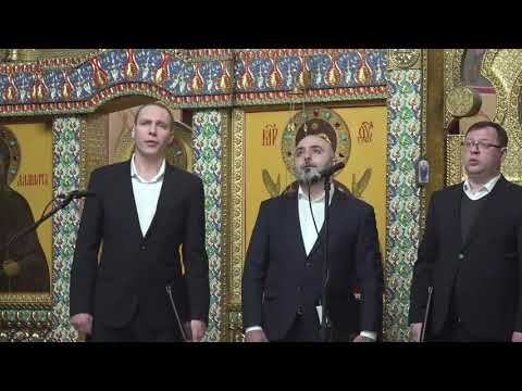 Мужской вокальный ансамбль «Дорос» выступил с концертом в Александро-Невском кафедральном соборе