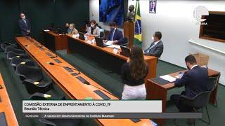 Coronavírus - Comissão debate vacina contra Covid - 06/08/2020 10:00