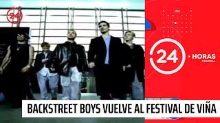 Backstreet Boys vuelven al Festival de Viña después de 21 años