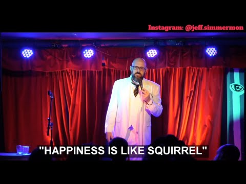 Guy tries to be normal and happy after a brutal divorce (standup comedy)