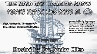 12/12/18 Pre-Market Live $UWT $CORT $APHA $NBEV $CRON 🛢️ The Mojo Trading Show
