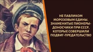 Не Павликом Морозовым едины! Как сложились судьбы пионеров-доносчиков?