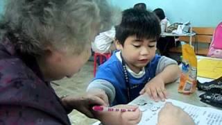 Zhang you Hua very sick while studying Mandarin