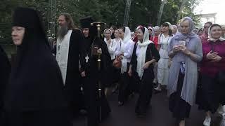 Крестный ход в день памяти святителя Тихона Задонского 26.08.2018 г.