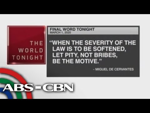 [ABS-CBN]  Final Word – March 1, 2020 | ANC