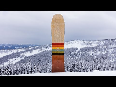 Arbor Cask – TransWorld SNOWboarding Powder Board Reviews 2018-2019