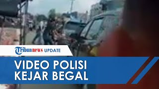 Viral Video Polisi di Ogan Ilir Kejar-kejaran dengan Begal bak Film Action