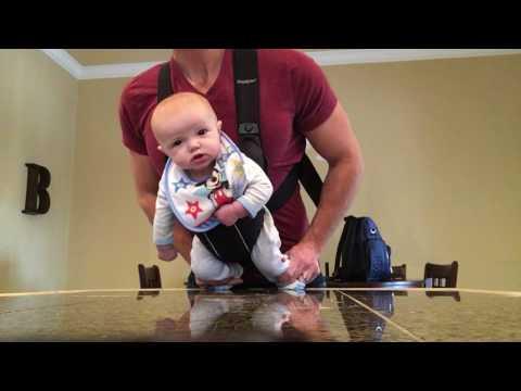 Når pappa er alene hjemme med babyen