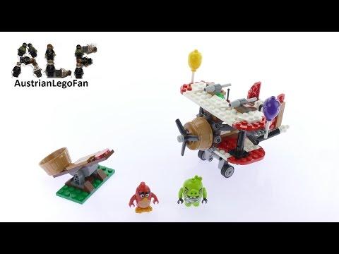 Vidéo LEGO Angry Birds 75822 : L'attaque en avion du cochon