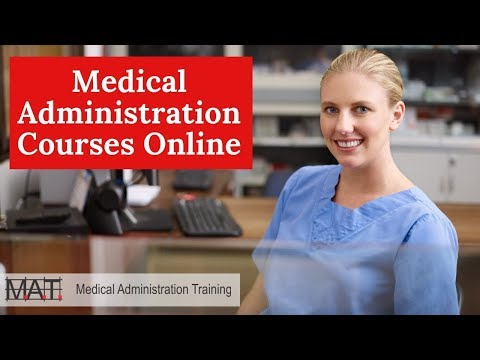 Medical Administration Courses - Online Medical Administration ...