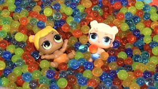 Куклы Пупсики Меняют Цвет Мультик Беби Элайв Шарики Орбиз Игрушки для детей