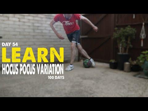 Learn HOCUS POCUS VARIATION | 100 DAYS | Day 54