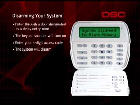 DSC Alarm Panel Instructional Video