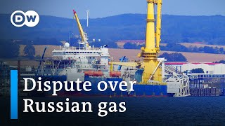US threatens Germany with sanctions over Nord Stream 2 gas pipeline   DW News