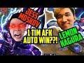 LEMON KAGURA JESS MOSKOV 1 TIM AFK AUTO WIN Mobile Legends