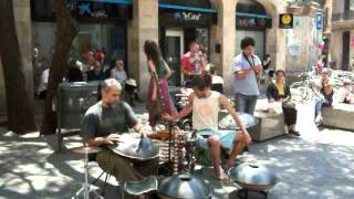 Hang Drum In Barcelona Part 1