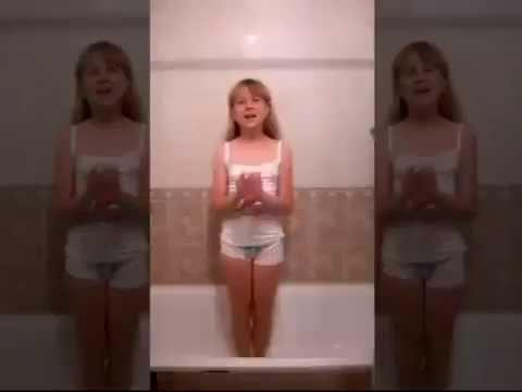 (女子校生)schoolgirl ice bucket challenge
