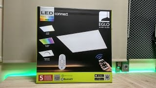 Painel led Eglo RGB/Tunable Whites -  Unboxing