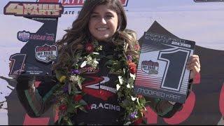 Hailie Deegan Wins The Championship