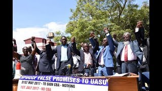 Students at receiving end of lecturers' strike - VIDEO