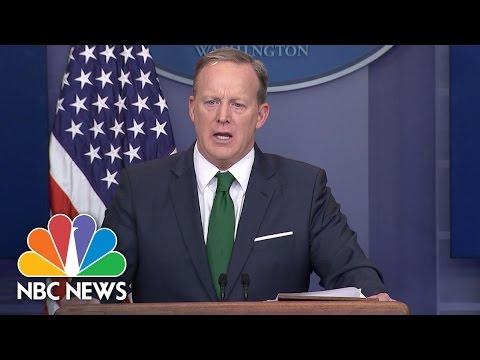 Sean Spicer Cites Claim British Spy Agency Behind Alleged Trump Tower Wiretap | NBC News