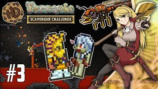 NYMPH  THE LAND OF LAVA! Let's Play Terraria Scavenger Challenge! #3