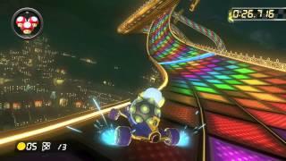 N64 Rainbow Road - 1:16.915 - ☆ぷりん☆ (Mario Kart 8 World Record)