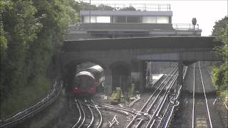 preview picture of video 'Chiltern Railways Diversions, Northolt, July 2012.'