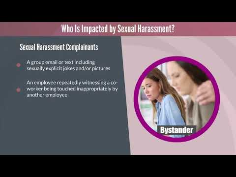 Sexual Harassment Prevention - YouTube