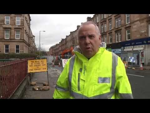 , title : 'Roadworks In Glasgow Jeopardise Small Businesses