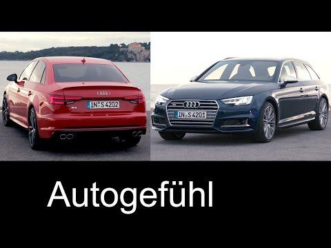 Audi S4 sedan/Limousine & Avant Sound/Exterior/Interior 2017 new neu