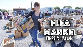 FLEA MARKET FINDS For Resale | Shop With Me | Reselling