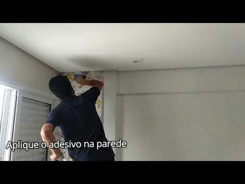 Como instalar Adesivo de parede, economize ou ganhe dinheiro aplicando adesivo de parede.