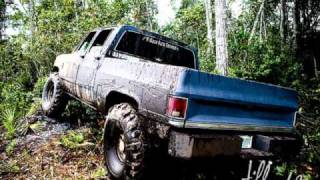 Brantly Gilbert Country must be country wide. Mudd trucks
