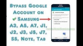 Скачать Samsung A510F Frp Bypass 7 0 Galaxy A5 (2016) FRP Bypass 2