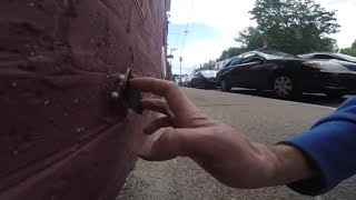 Street Fingerboarding: Downtown Boston