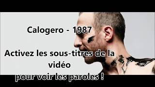 Calogero    1987 (PAROLES)