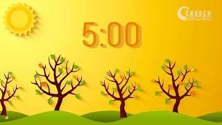 Autumn Sunlight 5 Minute Countdown