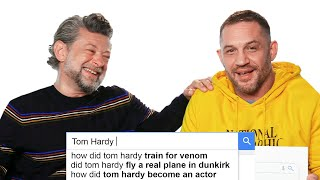 Tom Hardy & Andy Serkis Answer the Web's Most Searched Questions | WIRED