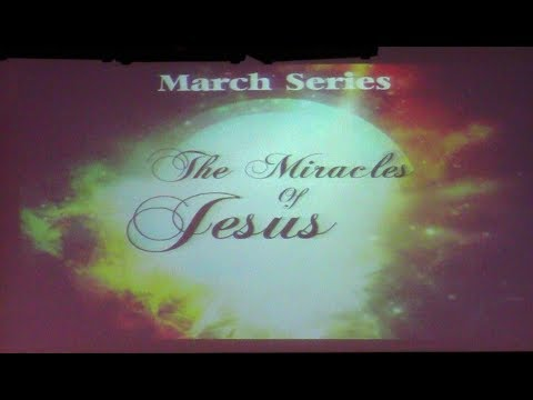 """""""The Miracles of Jesus"""" Pat 1 Miracles of Supply by Pastor Randy Vanesian"""