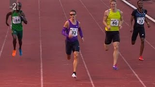 Men's 400m - Velenje 20th International Athletic Meeting 2015