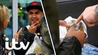 Border Force Stop a Man With a Massive Amount of Cash! | Heathrow: Britain