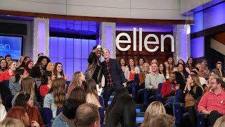 Ellen Finds Real People in Her Audience