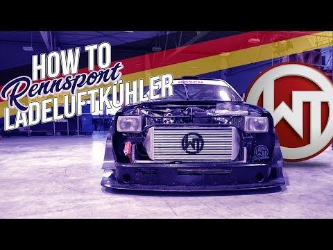 Wagner Tuning - Rennsport-Ladeluftkühler - How To