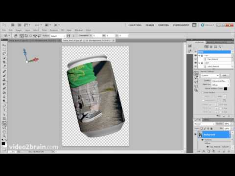How To: Create 3D Textures In Photoshop CS5