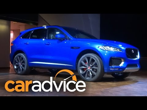 Jaguar F-Pace Preview Walk Around