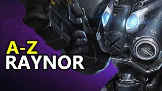 ♥ A - Z Raynor -  Heroes of the Storm (HotS Gameplay)